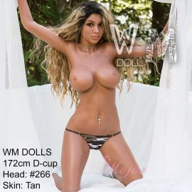 WM 172cm D-cup REESE Realistic TPE Sex Doll Fully Customizable