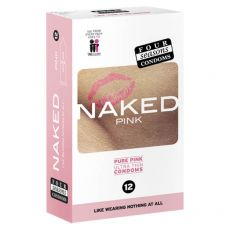 Four Seasons Naked Pink Condoms 12-pack