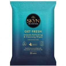 Ansell Lifestyles SKYN Get Fresh Intimate Cleansing Wipes 30's