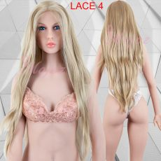 Lace Front Wig Long Blond
